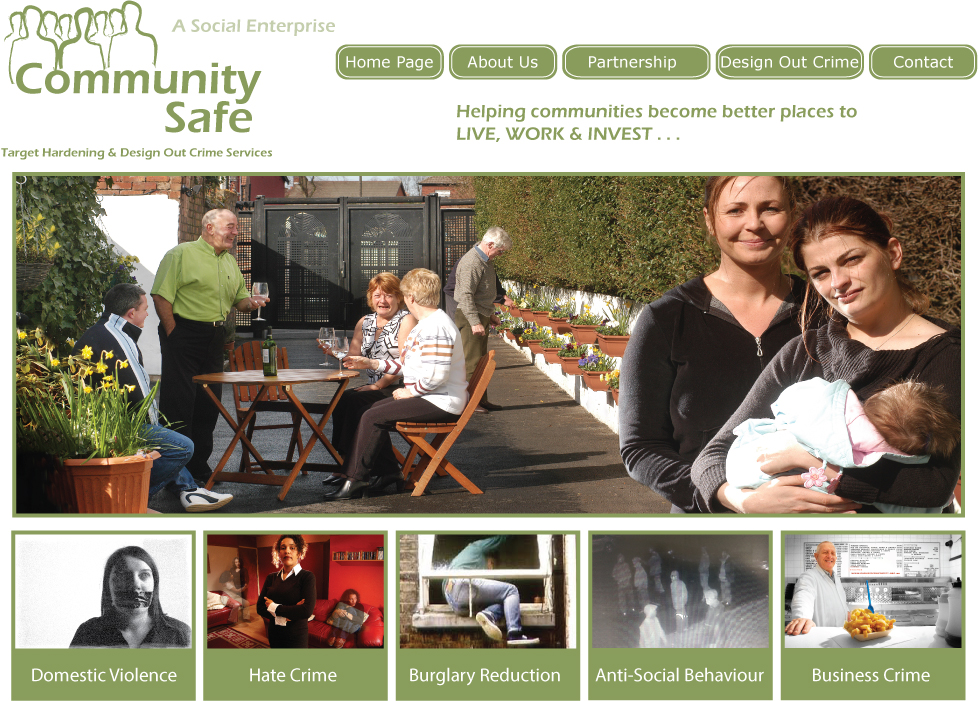 Community Safe Home Page
